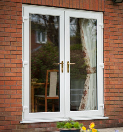 French doors otp supplies otp supplies for Plastic french doors