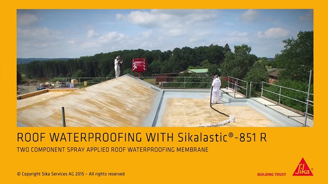 Sikalastic Waterproofing System