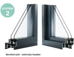 Aluminium window profile 2